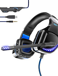 cheap -OVLENG GT97 Wired Gaming Headset E-Sports with Microphone LED Stereo Surrounded HiFi Headset for PS4 PC Laptop High Quality