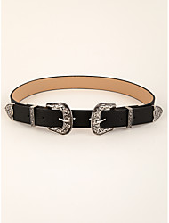 cheap -Women's Party / Vintage Waist Belt - Solid Colored