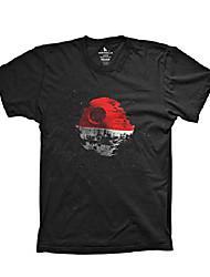cheap -poke death star shirt funny mashup video game movie shirt, x-large black