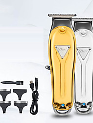 cheap -Men'S Household Hair Clipper Full Metal Body High Power Electric Hair Clipper Hair Salon Electric Hair Clipper