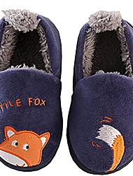 cheap -toddler navy fox velvet house shoes warm children shoes (10 m)