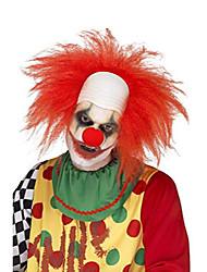 Недорогие -Хэллоуин это роскошный парик клоуна