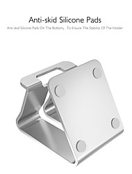 cheap -Phone Holder Stand Mount Bed Desk Cell Phone Foldable Phone Desk Stand Gravity Type Aluminum Alloy Phone Accessory iPhone 12 11 Pro Xs Xs Max Xr X 8 Samsung Glaxy S21 S20 Note20