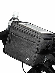 cheap -bike handlebar bag waterproof bicycle front bag pack camera bag handbag phone bag with touch screen shoulder strap