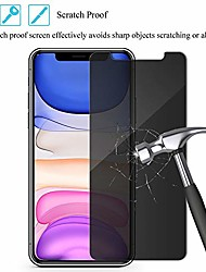 cheap -privacy screen protector for iphone 11,  [anti-scratch] [anti-spy] [bubble free] [anti-fingerprints] premium tempered glass screen protector compatible iphone 11, 6.1inch (2019) 2-pack (black)
