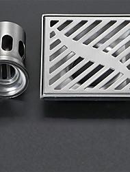 cheap -Drain New Design Modern Stainless Steel / Iron 1pc - Hotel bath Floor Mounted