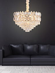 cheap -13 Bulbs 60 cm Chandelier Crystal Electroplated Traditional / Classic 110-120V / 220-240V