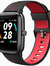 cheap -smart watch, gps running watches for men women and kids fitness tracker heart rate monitor 5atm waterproof, smartwatch compatible iphone android phones