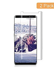 cheap -(2 pack) galaxy note 8 screen protector,hd clear film anti-bubble 3d touch screen protector compatible with samsung galaxy note 8 clear.
