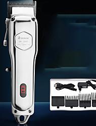cheap -Metal Body Professional Retro Oil Head Electric Clipper Hair Salon Engraving Gradient Clipper Hair Clipper