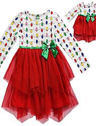 cheap -girls size 4-14 red christmas lights cascade dress (5)