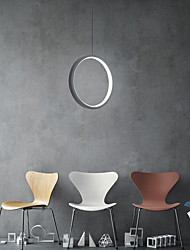 cheap -20 cm Circle Design Pendant Light Aluminum Acrylic Circle / Mini Painted Finishes LED / Modern 110-120V / 220-240V