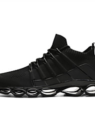 cheap -Men's Trainers Athletic Shoes Athletic Running Shoes Tissage Volant Black / Red Black Red Spring Fall