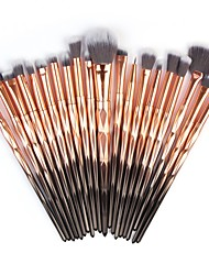 cheap -Professional Makeup Brushes 20pcs Full Coverage Plastic for Concealer Eyeshadow Kit Eyeshadow Brush