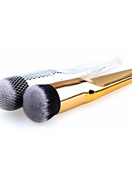 cheap -Professional Makeup Brushes 1 Piece Synthetic Metal for Foundation Brush