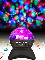 cheap -LED Bluetooth Speaker with Light Wireless Speaker Mini Disco Ball DJ Rotating Night Light Projector Color Changing Speaker Support TF Card for Party Dance Club Home Bedroom Wedding Christmas Gift