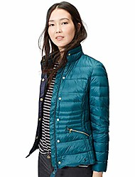 cheap -women's warmheart feather and down jacket, marine navy, 10
