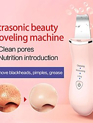 cheap -Ultrasonic Skin Peeling Machine Ultrasonic Scrubber Shovel Cleaner Blackhead Acne Removal Deeply Clean Facial Lifting Massager