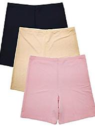 cheap -women invisible no-show seamless performance mesh boyshort boxer brief panties (l)