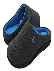 cheap -women's original two-tone memory foam slipper, size 9/10 uk women, wine and blue