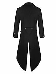 cheap -men's trench coat winter long jacket double breasted overcoat,vintage steam punk gothic dress coat long windbreaker