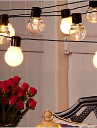 cheap -3M 10Leds Festoon Led Globe Led Flexible String Light Fairy Bulb Christmas Fairy String Light Garland Garden Patio Yard Decoration Holiday Outdoor Lighting EU US Plug AC110V 120V 220V 230V 240V