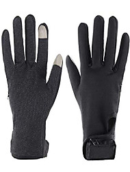 cheap -ladies dual fuel cold weather battery heated performance gloves (large)