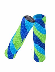 cheap -ztto ultralight bicycle grips mtb lockable handlebar grips silicone anti-slip grips - colorful
