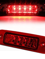 cheap -red housing led 3rd third tail brake light lamp replacement for jeep grand cherokee wj 99-04