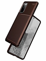 cheap -galaxy s20 fe 5g case,protective phone cover shockproof soft rubber case compatible with samsung galaxy s20 fe(fan edition) 5g 2020 - tq2 - brown