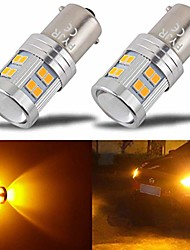 cheap -1156 1156a led amber yellow bulb, ba15s p21w 7506 1141 led bulb amber, ac/dc 10-30v 7.2w, with projector, 1000 lumens, for car, motorcycle turn signal lights, parking lights. (pack of 2)