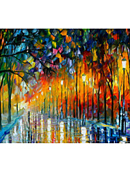 cheap -Hand-Painted Oil Painting On Canvas,Modern Abstract Pattern,Oil Painting Paintings Art Abstract Mural Poster Wall Painting Design,Gallery Artwork for Living Room