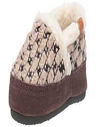 cheap -unisex-kid's l'il jam moc slipper, pebble, 10-11 standard us width us little kid