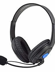 cheap -on-ear computer headset with built-in mic, ultra-lightweight wired headphones for computer laptop pc