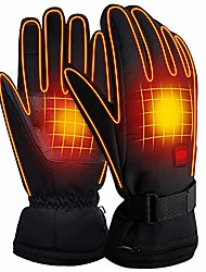 cheap -rechargeable electric battery heated gloves,men&women outdoor hiking skiing camping cycling motorcycling warm winter gloves,cold weather thermal gloves touchscreen hand warmer