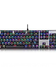 cheap -motospeed mechanical gaming keyboard,104-key gaming keyboar,shortcut keyboard and custom rgb backlight keyboard (blue switch)