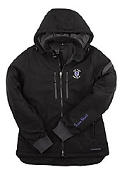 cheap -extreme cold weather women's casual jacket- black (xx-large)