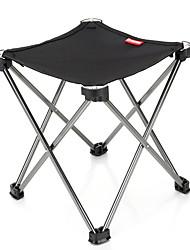cheap -Camping Stool Tri-Leg Stool Portable Anti-Slip Foldable Comfortable Aluminum Alloy Oxford for 1 person Camping Camping / Hiking / Caving Traveling Picnic Autumn / Fall Spring Black