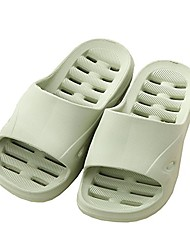 cheap -kids non-slip eva house slippers sandals/slides for boys or girls used in bathroom, outdoor, indoor, bedroom, home, pool, beach, spa (little kid 1 m~3 m, green)
