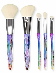cheap -5pcs makeup brushes set diomand powder eye shadow foundation concealer blush lip make up brushes brochas make up brush ylyhjd (color : 05)