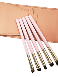 cheap -5 Horse Hair Makeup Brush Eye Shadow Brush Makeup Tool Set Animal Hair Mask Brush Beauty Dressing Tool