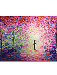 cheap -Mintura Original Large Size Hand Painted Abstract Knife Landscape Oil Painting on Canvas Modern Wall Art Picture For Home Decoration No Framed