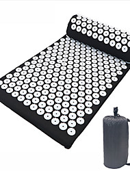 cheap -1set 66*42cm Acupuncture Massage Mat Yoga Mat Acupoint Massage Mat Acupuncture Mat Acupuncture Pillow