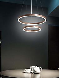 cheap -LED® 2-Light Circular Novelty Chandelier Downlight Brushed Aluminum Adjustable 110-120V 220-240V Warm White Cold White