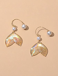 cheap -Women's Drop Earrings Geometrical Fashion Fashion Earrings Jewelry Gold For Date
