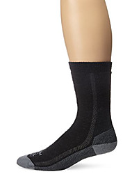 cheap -unisex madison midweight hiking merino wool socks (2-pack offer), charcoal and balsam, medium
