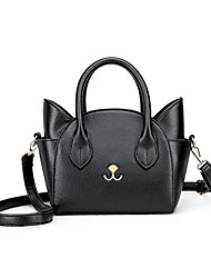 cheap -fashion style casual handbag, shoulder bag, cross body bag/purse for women, black (black) - st04