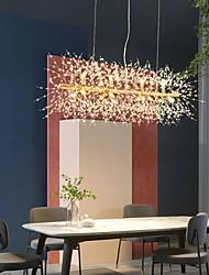 cheap -9/12 Heads LED Pendant Light Dandelion Chandelier Fireworks Crystal Lamp Living Room Dining Room Bedroom Lamp Romantic Clothing Store Bar Lamp 72cm 92 cm
