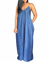 cheap -jean dresses for women, plus size sleeveless low-cut blue tube dress backless holiday sundress hot swimsuit cover ups