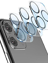 cheap -[2020 new version add camera flash circle]  camera lens protector for iphone 11 pro max/iphone 11 pro tempered glass, work well with flash, no camera interference, strong adsorption (2 pack)